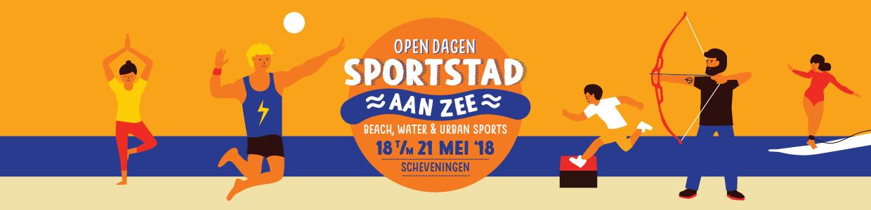 sportstad aan zee, open dagen sportstad aan zee, sportstad aan zee scheveningen